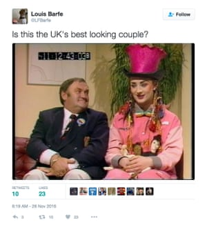 Is THIS the UK's funniest Best-Looking Couple tweet?