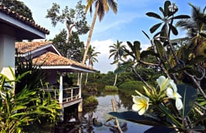 The Soul & Surf retreat is based at Duwa Villas
