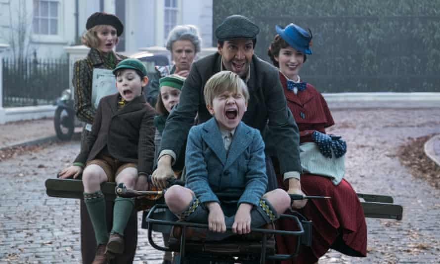A scene from Mary Poppins Returns.
