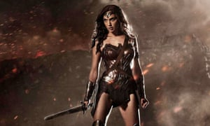 Gal Gadot as Wonder Woman in Batman v Superman.