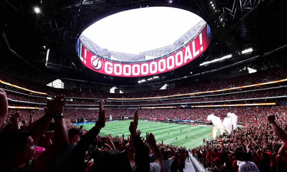 Atlanta's Mercedes-Benz Stadium is one of the most impressive sports venues in North America