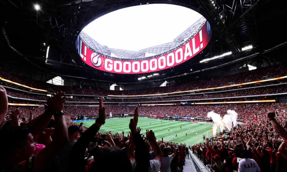 Atlanta United pull in big crowds to their home games