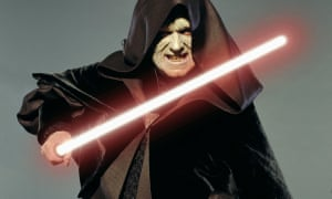 Ian McDiarmid as Palpatine in Revenge of the Sith, 2005.