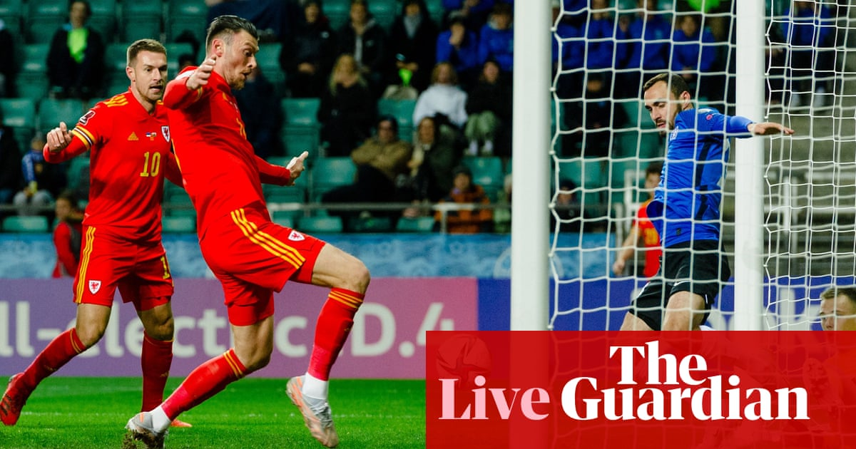 Estonia 0-1 Wales, Germany qualify for 2022 World Cup – as it happened
