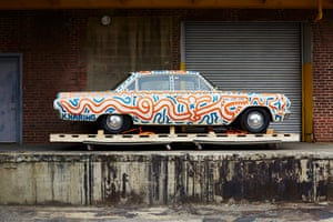 Untitled (automobile), 1986 1963 Buick Special Enamel on vehicle body