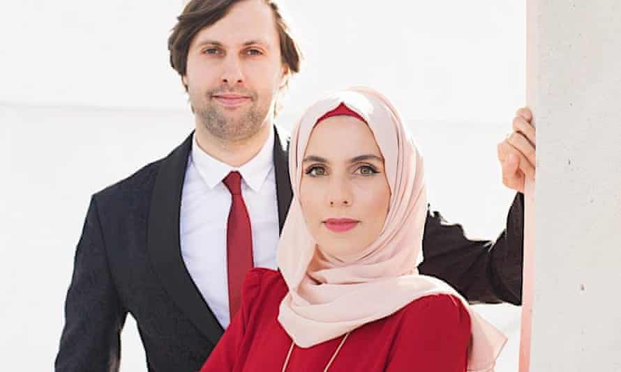 Muhammad Bayazid with his wife and film-making partner Samah Safi Bayazid