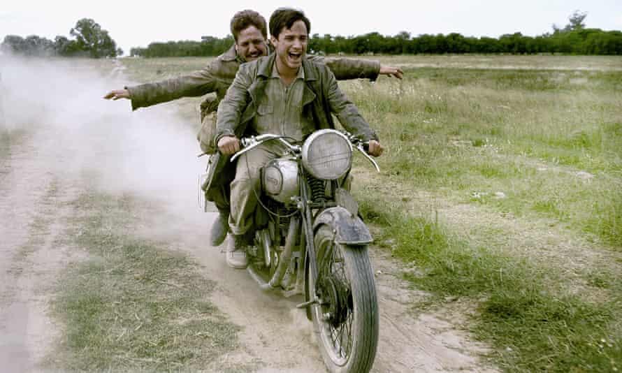 As Che Guevara in The Motorcycle Diaries