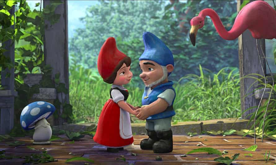 A still from Gnomeo and Juliet