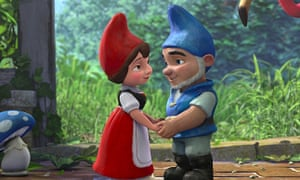 What we call a ... mushroom?  Gnomeo and Juliet.