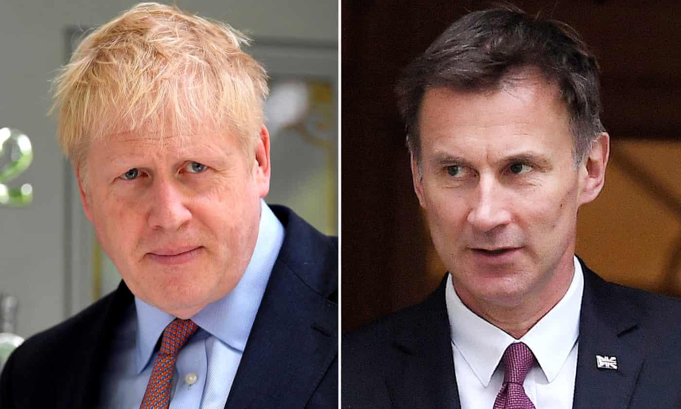 Tory leadership: Johnson denies intelligence claims as John Major backs Hunt – as it happened