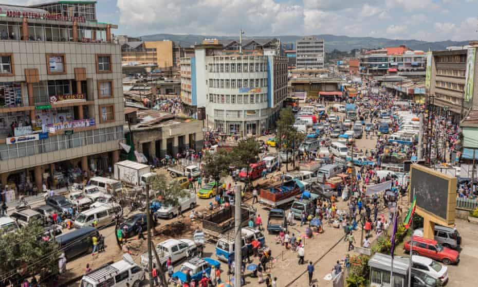 Merkato, Ethiopia's largest open-air market.