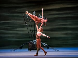 Denis Rodkin (Spartacus) and Anastasia Denisova (Phrygia) in the Bolshoi's Spartacus