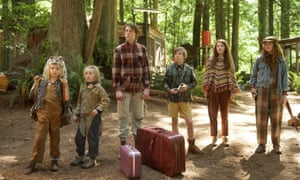 Family fantastic: from left, Shree Crooks, Charlie Shotwell, George MacKay, Nicholas Hamilton, Samantha Isler and Annalise Basso.
