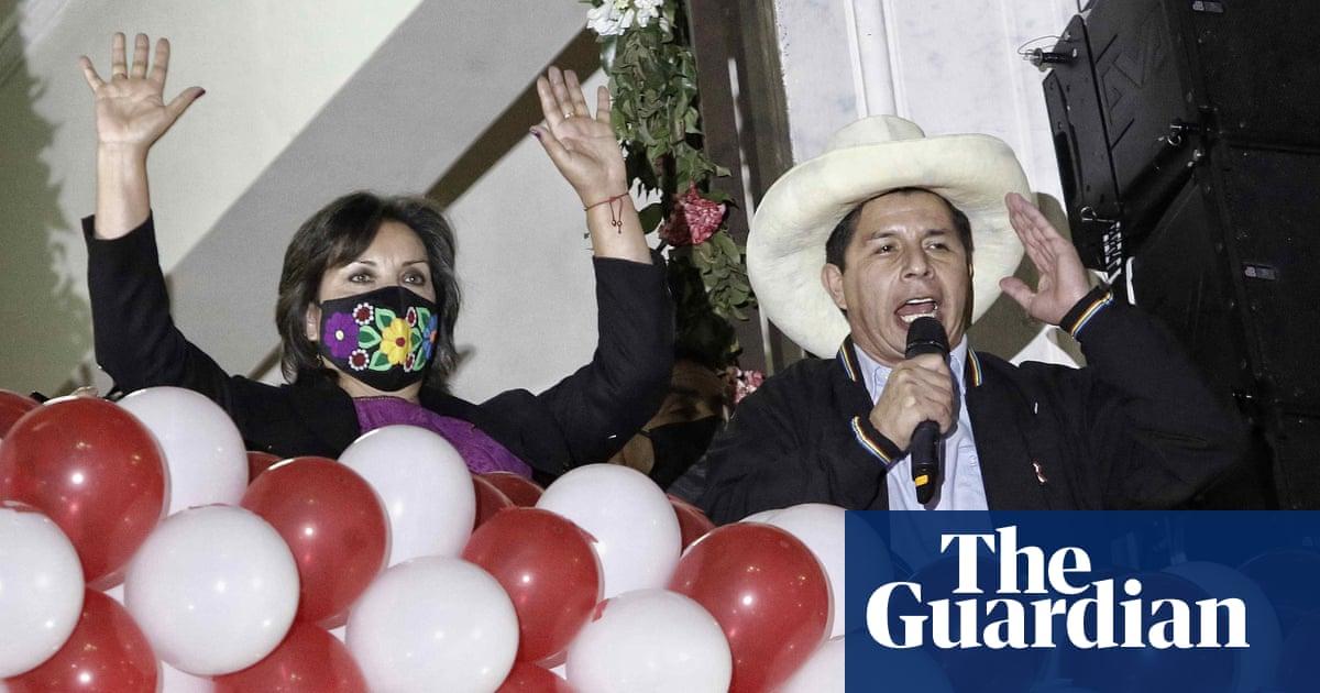 Peru se nuwe president om die leiding te neem oor verdeelde lande wat deur Covid verwoes is