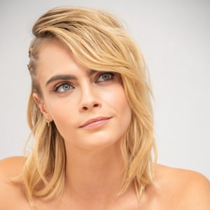 'People have always found it hard to take me seriously' … Delevingne, who has a starring role in Carnival Row.
