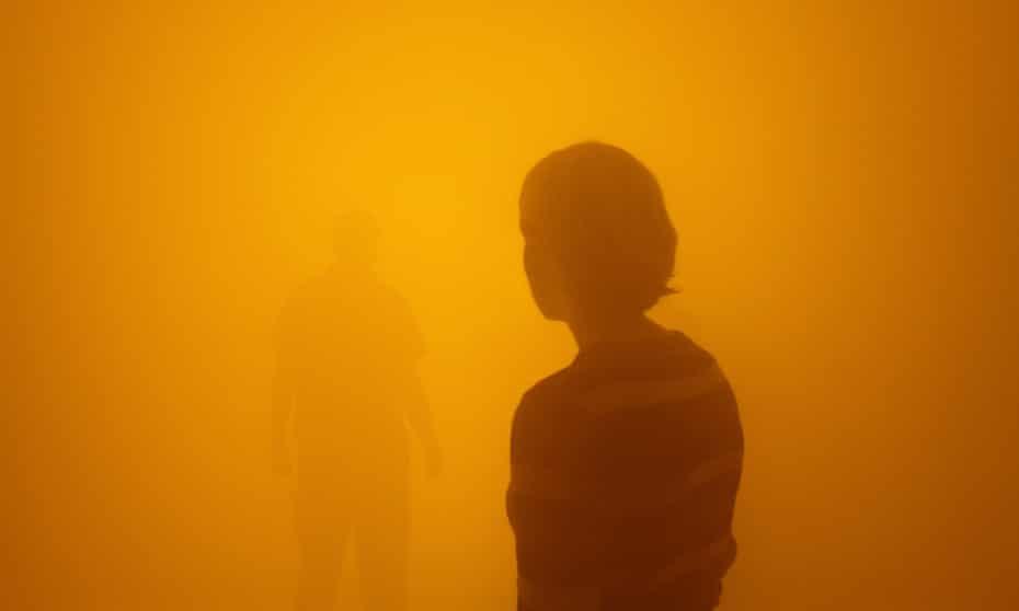 Olafur Eliasson's Your blind passenger installation