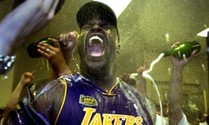 The Lakers have 16 NBA titles, including this one in 2001