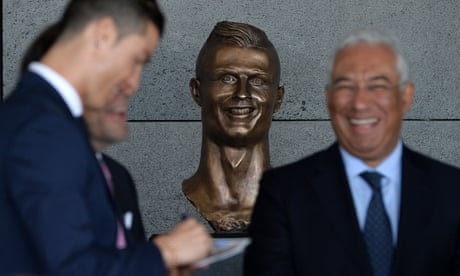 Cristiano Ronaldo gets airport named in his honour … and a dubious bust