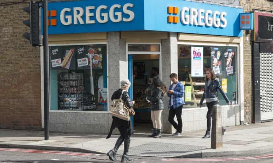 Greggs: popular among metrosexuals.