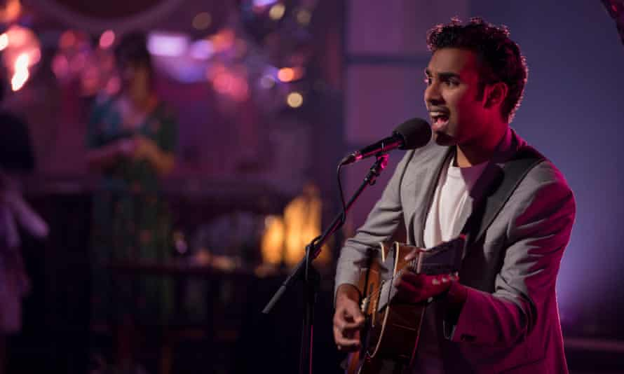 Himesh Patel plays the Beatles in Yesterday.