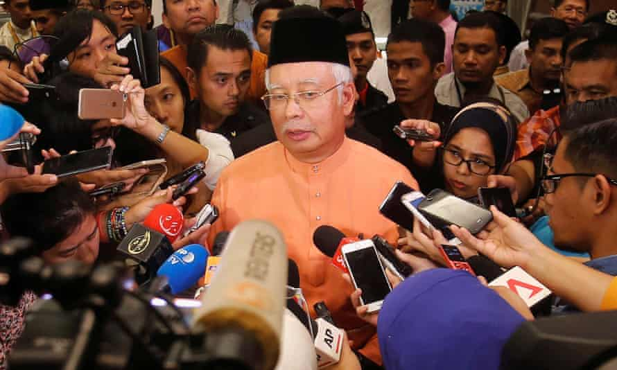 Malaysia's former prime minister Najib Razak faces dozens of charges related to the 1MDB scandal.