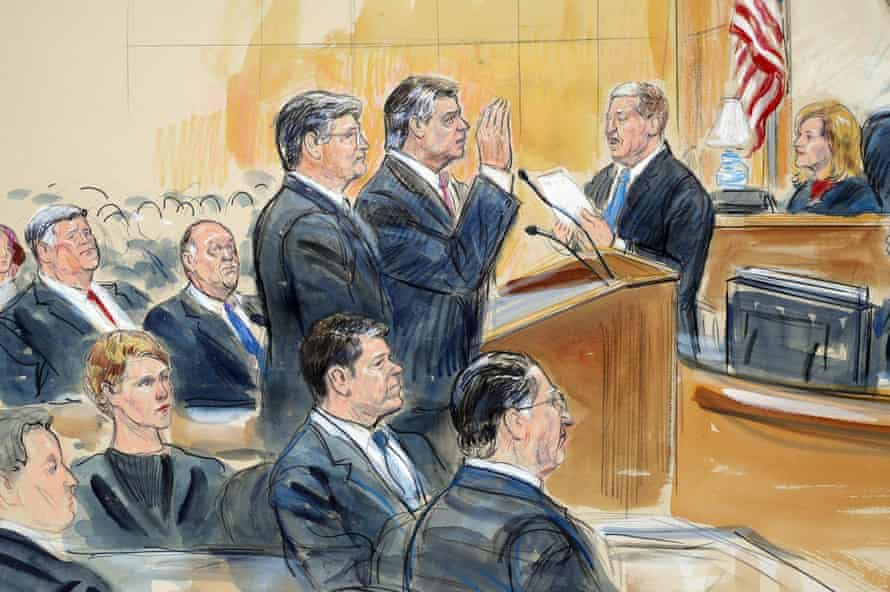 Paul Manafort is expected to plead guilty to offences including money laundering and tax fraud and conspiring to obstruct justice by witness tampering.