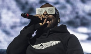 Will.i.am of the Black Eyed Peas performing in London.