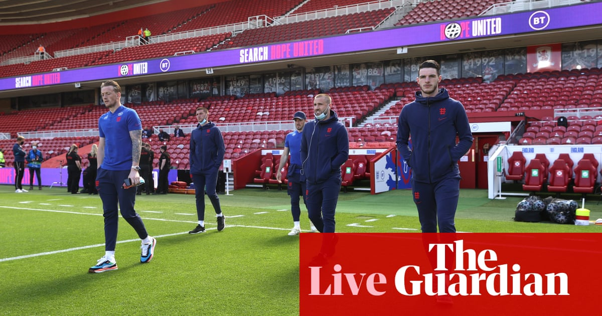 England v Romania: Euro 2020 warm-up friendly – live!