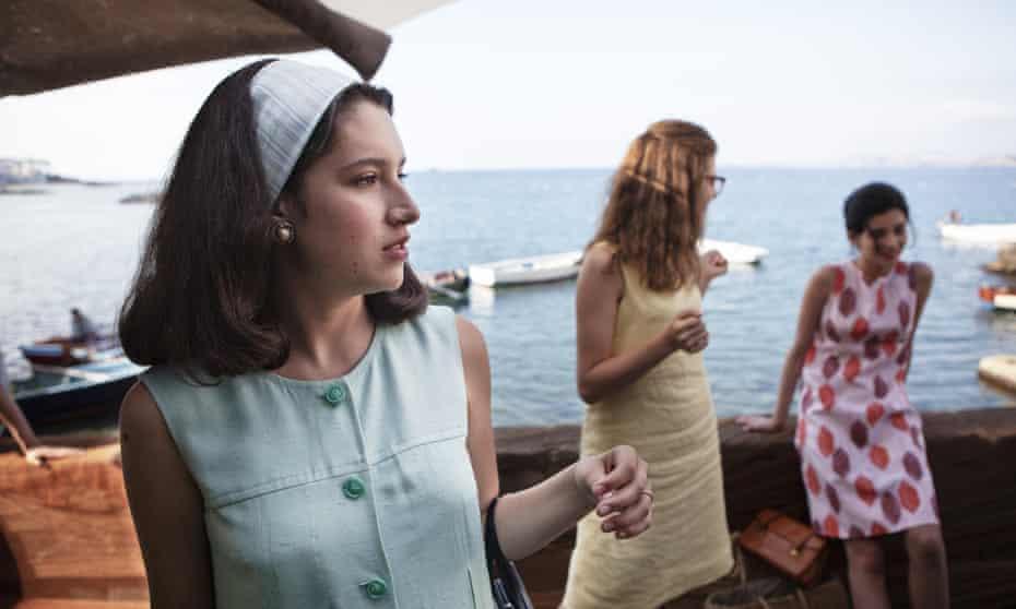 Federica Sollazzo (left), Margherita Mazzucco and Gaia Girace in My Brilliant Friend