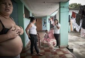 Women at the Penitenciaria Nacional Femenina de Adaptación Social