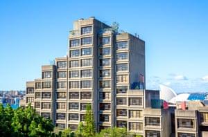 Under threat: Sirius building, Sydney,Australia