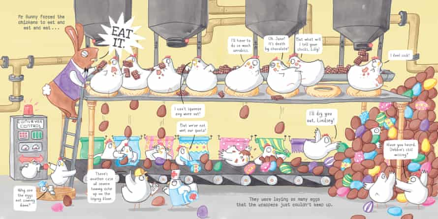 Elys Dolan's Mr Bunny's Chocolate Factory
