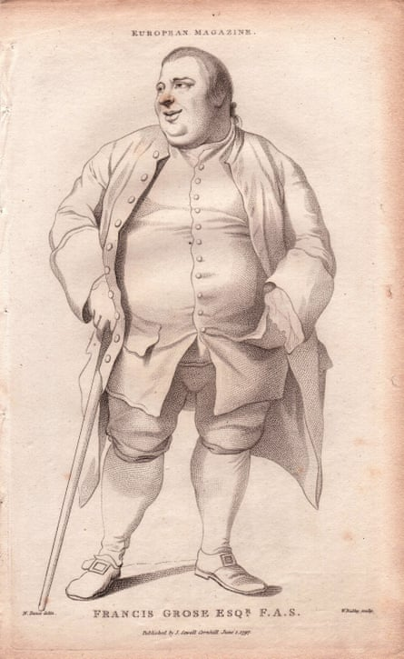 18th century slang-collector Francis Grose.