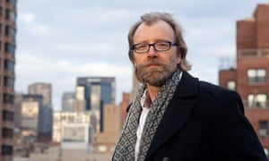 Author George Saunders in New York