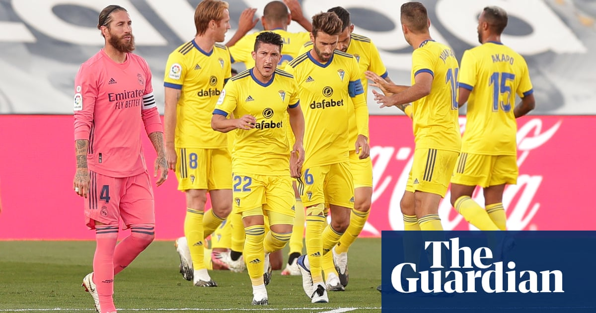 Cádiz soar into dreamland after stunning Real Madrid in historic win | Sid Lowe