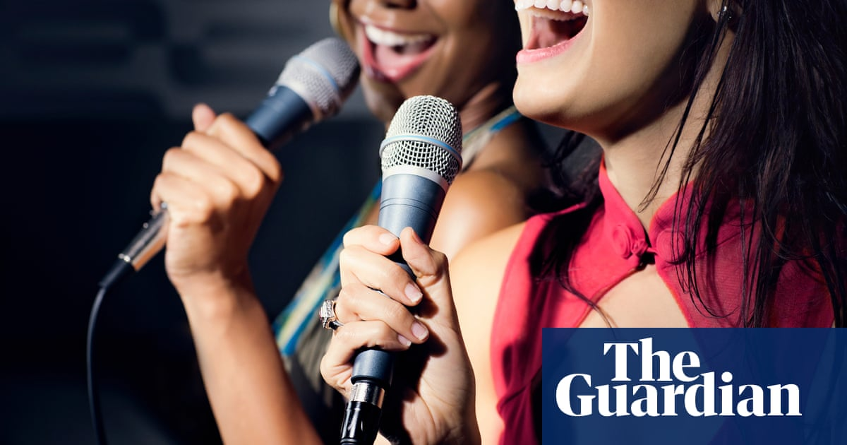 Karaoke fans find their voices again after Covid rules lifted in England