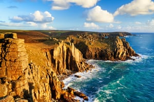 Can you see Sodom and Gomorrah? … the rugged coast of Cornwall.
