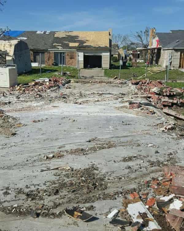Lindsay Diaz's home, demolished by mistake.