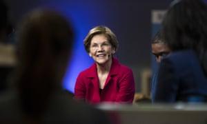 Elizabeth Warren, last night.