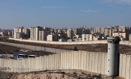 Kafr Aqab is part of Jerusalem, but was separated from the city by a concrete barrier in the early 2000s.