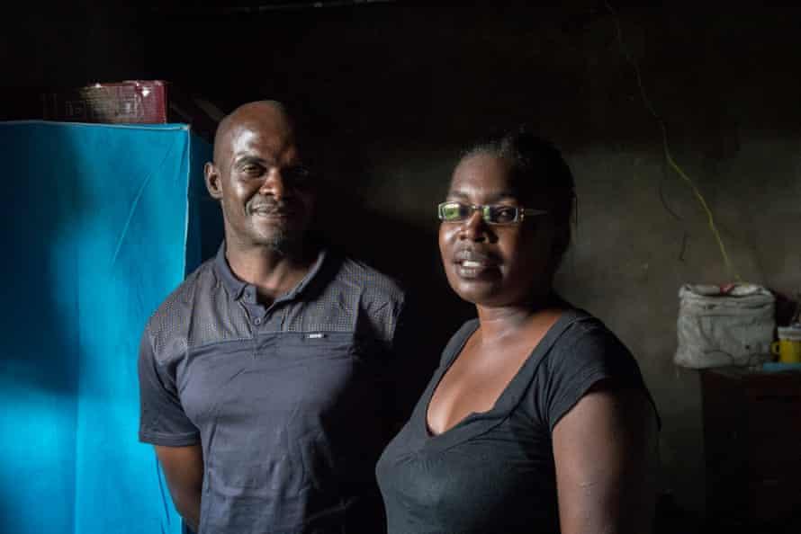 Natsiraishe's parents, Richard and Ndanatseyi.
