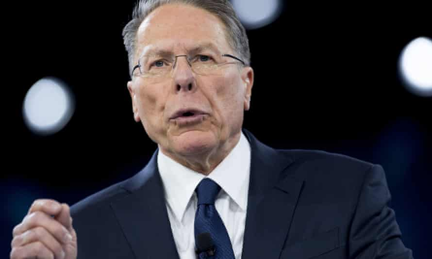 Wayne LaPierre, the executive vice-president of the National Rifle Association (NRA), 'exploited the organization for his financial benefit', the lawsuit alleges.