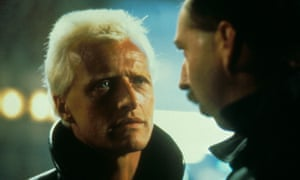 Rutger Hauer, left, with Brion James in Blade Runner.