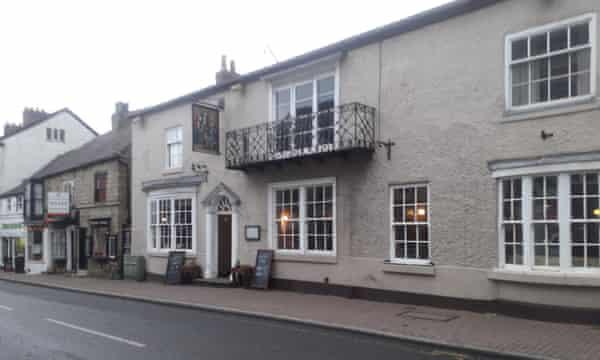The Commercial Hotel in Knaresborough high street, a digital detox pub.