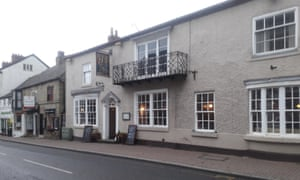 The Commercial Hotel in Knaresborough high street, a digital detox pub.