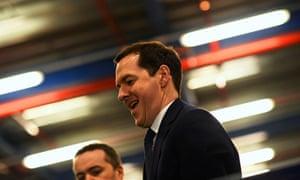The chancellor, George Osborne