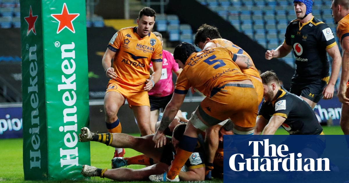 Wasps beat 14-man Montpellier, Toulon refuse to play Scarlets over Covid-19