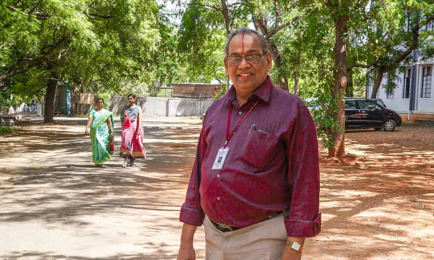 Dr Rajagopalan Vasudevan , dean and professor of chemistry at the the Thiagarajar college of engineering in the South Indian city of Madurai.