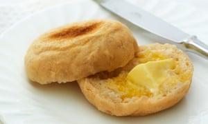 A muffin ... or an 'English muffin'?