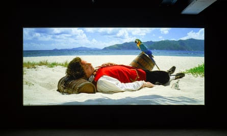 Vexation Island, 1997 by Rodney Graham.